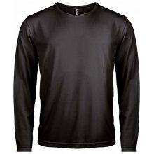 Tričko s dlouhým rukávem Monarch Černá