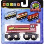 MAXIM červená diesel lokomotiva 50502