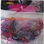 Loom bands gumičky na náramky barevné