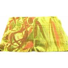 Arteddy Dámský šátek s potiskem žlutá 7454da2bea
