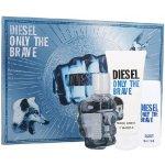 Diesel Only the Brave EdT 75 ml + sprchový gel 100 ml + sprchový gel 50 ml dárková sada