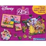 Clementoni Soubor her: Disney Princezny 2v1