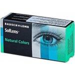 Bausch & Lomb SofLens Natural colors Platinum barevné nedioptrické 2 čočky