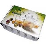 Pangea Tea dárková kazeta kvetoucí čaje 5 ks