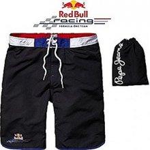 Red Bull plavky bermudy s vakem