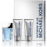 Michael Kors Extreme Blue EdT 120 ml + voda po holení 75 ml + tělový gel 75 ml dárková sada