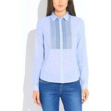 39be637411c Pepe Jeans světle modrá košile Ami se vzorem