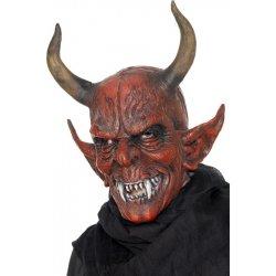 997eedddb Karnevalový kostým Maska čert s velkými rohy