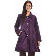 Coline Dámský kabát VE14054 Prune