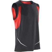 Pánské tílko Sport Athletic černá/červená