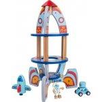 Small foot by Legler dřevěné hračky pro kluky Vesmírná raketa