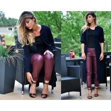 Fashionweek Luxusní neobvyklé pletené dlouhé svetry kabáty MAXI SV06 ROYAL  Černá 58584e90cc