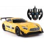 Rastar RC auto Mercedes-AMG GT3 Transformer Žlutý 1:14