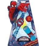 EUROSWAN Dětská LED baterka Spiderman Hliník, Plast, 9x2,5 cm