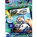 Kouzelné malování vodou Delfíni