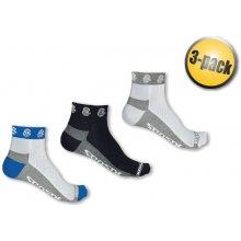 Sensor ponožky Race Lite ručička 3-pack černá/modrá/bílá
