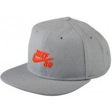 Nike SB ICON SNAPBACK grey