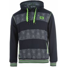 Everlast Xfluo Printed Hoody Mens Navy/Green
