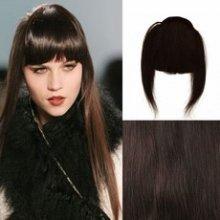 Clip in ofina – REMY 100% lidské vlasy – 2 - černohnědá