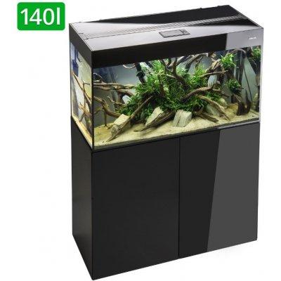 Aquael Glossy akvarijní set 80x35x50 černý