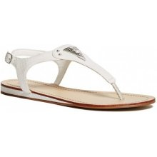 Guess Carmela T Strap Sandals Steel grey