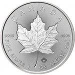 "Maple Leaf Investiční stříbro stříbrná mince 5 CAD Incuse 1 Oz 2018 ""Reverse"""