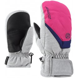 Ziener Lorian Mitten Glove junior - light melange pop pink od 299 Kč ... a791463d04