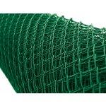 Pletivo poplastované IDEAL Zn + PVC 50/1000 mm/1,65/2,5/zelené/oko 55x55/25m se zapleteným napínacím drátem