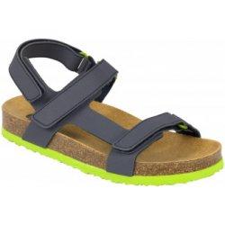 Dětská bota Scholl BENJI KID bílé dětské zdravotní pantofle s páskem b5bec3b6f4