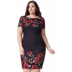 9612d1fdff51 Dámské šaty Goddiva dámské šaty pro plnoštíhlé dámy