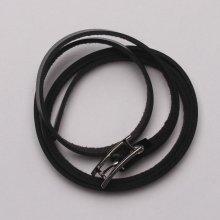HGM kožený náramek ve tvaru pásku 155607272