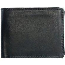 Kožená peněženka z jemné kůže bez značek a nápisů