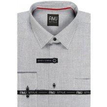Pánské košile šedá 2de7e8c64c