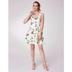 Ever-Pretty letní šaty s třešněmi a V výstřihem bílá dámské šaty ... 00265aaf3e
