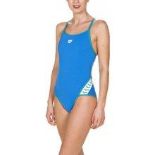 eaac6b453ef Arena jednodílné plavky Team Stripe Super Fly One Piece modrá