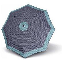 Doppler Dámský plně automatický deštník Magic Fiber Style modrý 74414652301