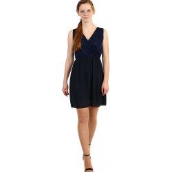 8e8ef9454a4b Krátké šifonové šaty s krajkou 269267 tmavě modrá od 625 Kč - Heureka.cz
