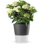 EVA SOLO Samozavlažovací květináč šedý 27cm