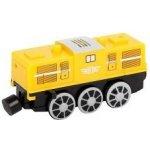 lokomotiva elektrická žlutá se zvuky (diesel)