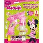 Bublifuková pistole Disney Minnie velká + bublifuk 60 ml
