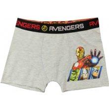 E plus M Chlapecké boxerky Avengers šedé