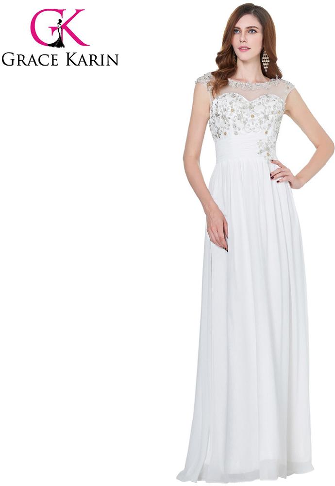 Grace Karin svatební šaty CL4473-3 bílá alternativy - Heureka.cz bc2ab80754