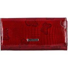 Loren Dámská kožená peněženka ti Karla červená