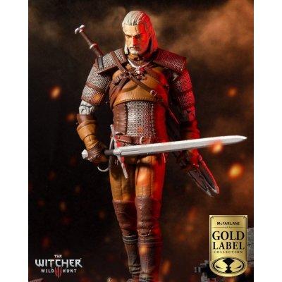 McFarlane Zaklínač Geralt Action 18 cm Gold Label Collection