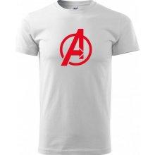 Bezvatriko.cz 0287 Pánské tričko s motivem Avengers Bílá
