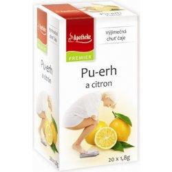 Apotheke Pu-erh a citron čaj 20 x 1.8 g