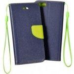 Pouzdro Goospery Mercury Fancy Diary Samsung Galaxy S3 Mini (i8190,i8200) Modré