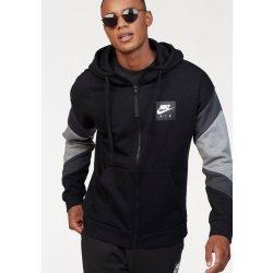 Nike Sportswear Mikina s kapucí »NSW NIKE AIR HOODIE FZ FLC« černá ... 2bfdb6f8cd