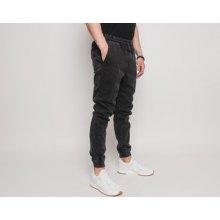 Diamante Wear Jogger jeans Marble černá