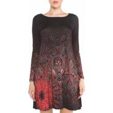 ac93e55bfb73 Desigual dámské šaty Jaipur černá